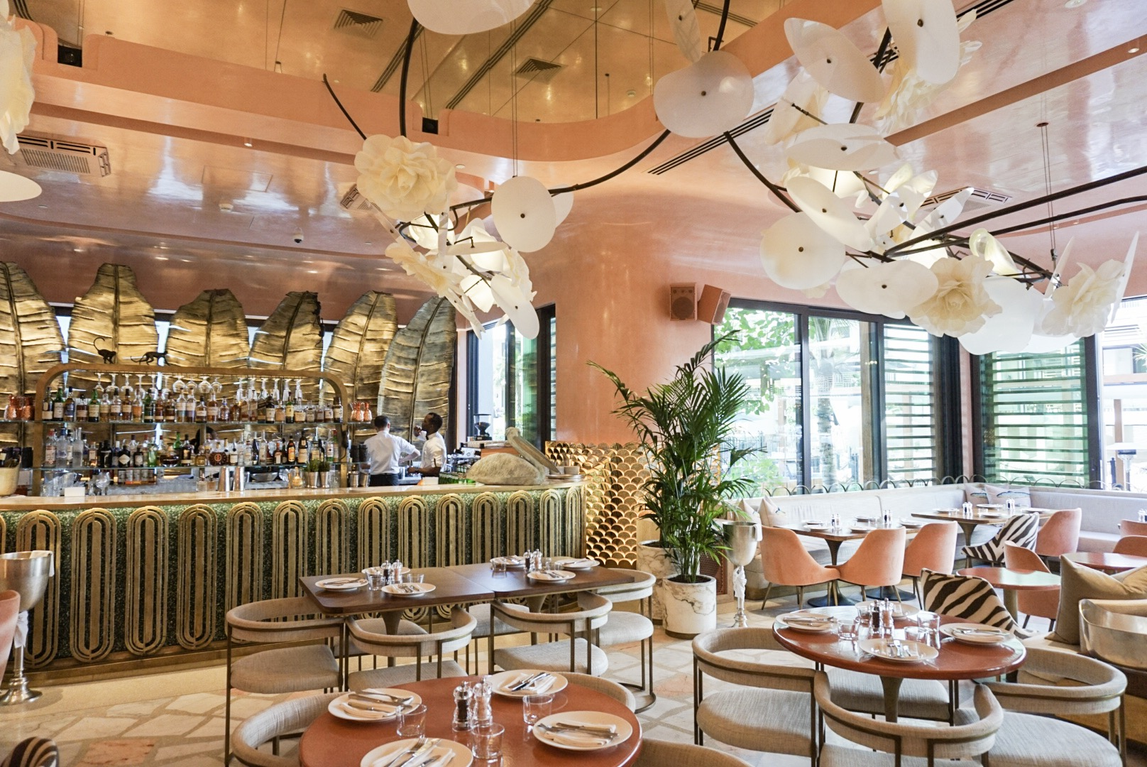 The Cutest Spot In Dubai Flamingo Room By Tashas The